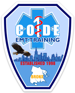 Code One Inc Original EMT Afternoon Course - September 24, 2018 - January 17, 2019 - 2:15pm - 5:15pm @ Code One Inc      