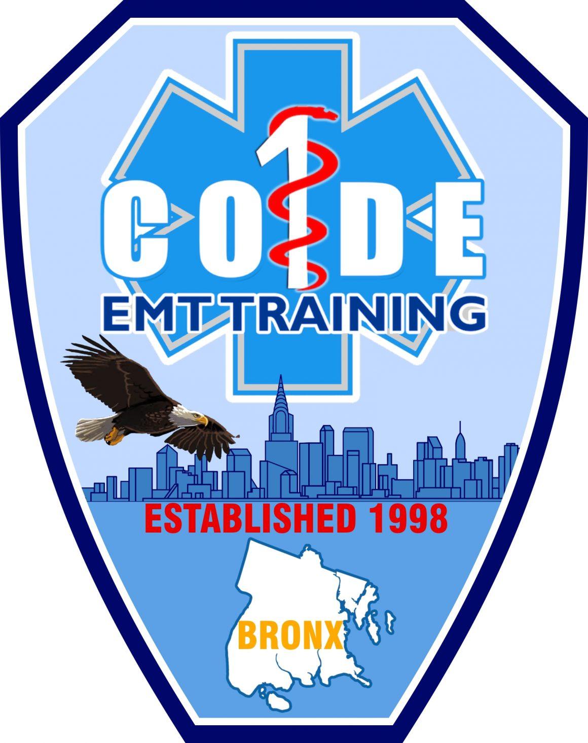 Code One Inc Original EMT Course – October 28, 2019 – February 18, 2020 – MORNING 9:30am – 1:30pm @ Code One Inc