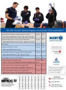 HeartCode BCLS Skills session @ BMCC Paramedic Program